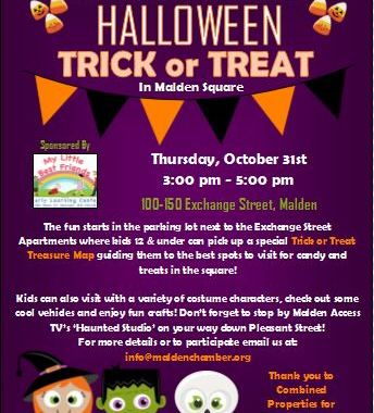 Malden Chamber Of Commerce Halloween Trick Or Treat