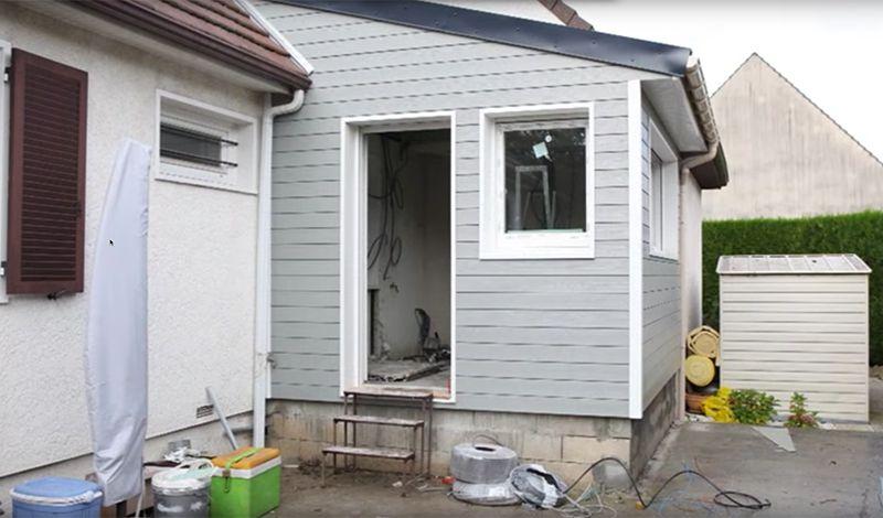 Une extension en bois pour votre maison