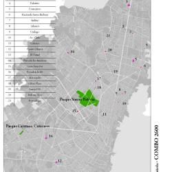Grandes Parques en Bogotá vs. Centros Comerciales Representativos