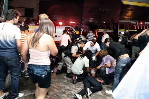 Foto de Tragedia en Disctoteca en  Brasil - Tomada de lapatilla.com