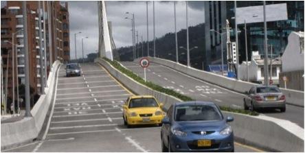 Puente de la 106 con 9ª . Tomado de www.eltiempo.com