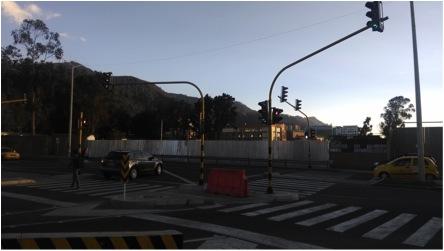 Estado actual del semáforo de la 106 con 11