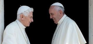 Francesco: «Fede e cultura i doni alla Chiesa del mio predecessore»