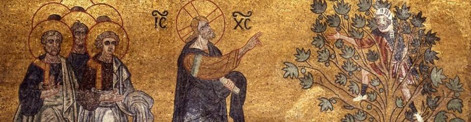 I Padri e la conversione di Zaccheo