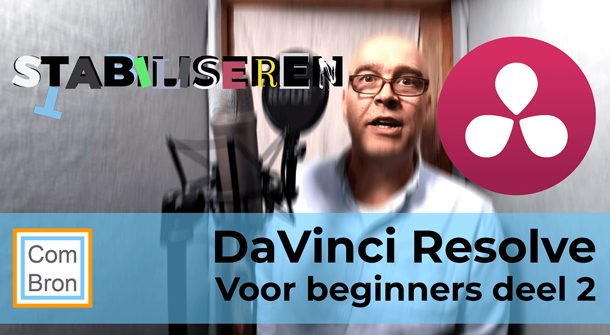 Trillingen uit videobeelden halen. Video stabiliseren met DaVinci Resolve.