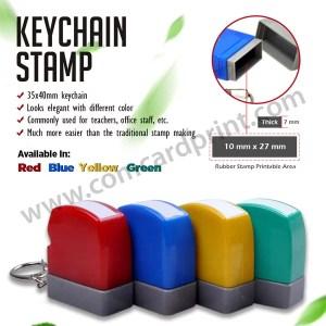 Keychain Stamp (Green)