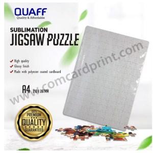 [A4 Size] QUAFF Sublimation Printable Jigzaw Puzzle Glossy