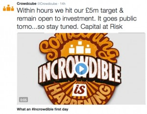 Crowdcube raises over £5m for itself