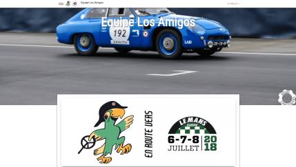 Site l'Equipe Los Amigos 2