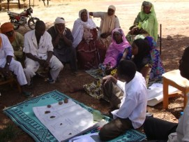 In order to mobilize local community members and encourage participatory management, fishermen in the community were interviewed during the baseline assessment.