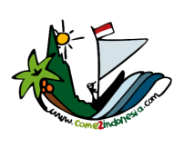 Indonesia travel blog come2indonesia logo withe