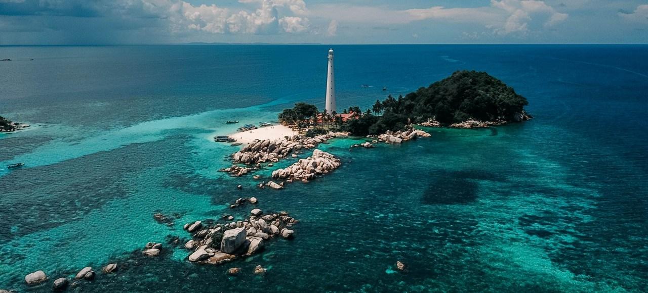 Visitas a Belitung en Indonesia