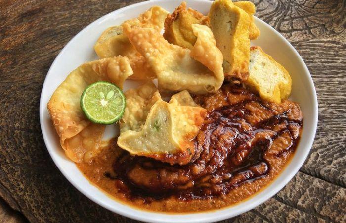 comida indonesia: batagor