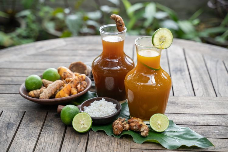 Indonesian drink: jamu