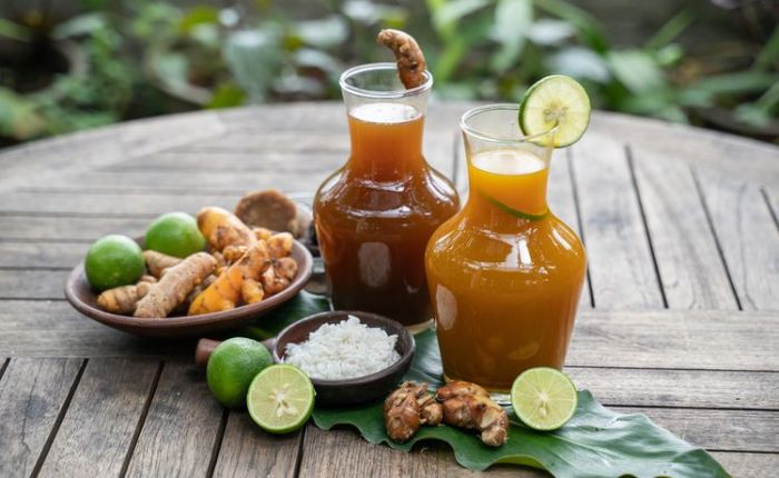 Indonesian drink: jamu