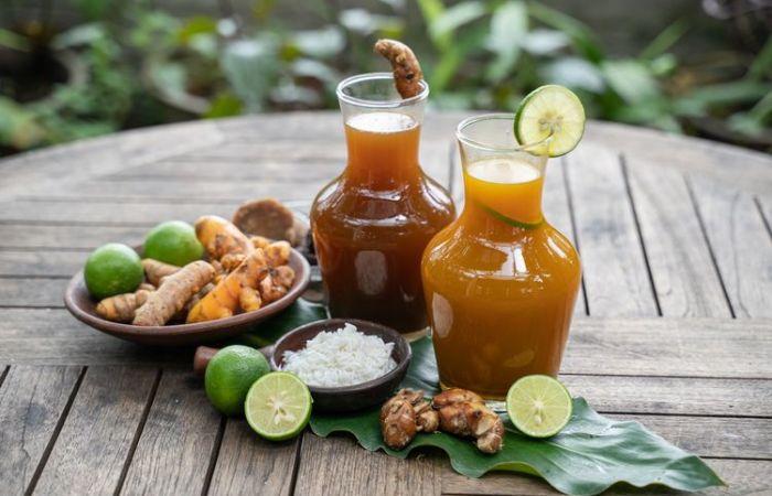 bebida indonesia: jamu