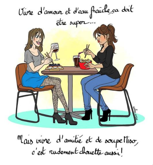 Marie Crayon Ou Votre Meilleure Amie En Dessins Come4news