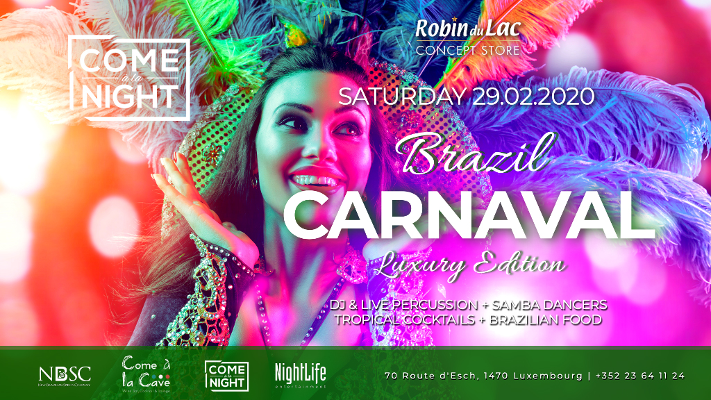 Brazil Carnaval at Come à la Night
