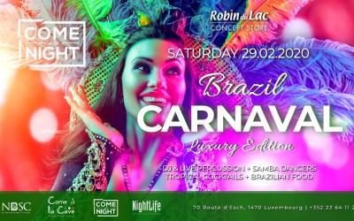 Brazil Carnaval at Come à la Night