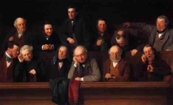 The Jury by John Morgan