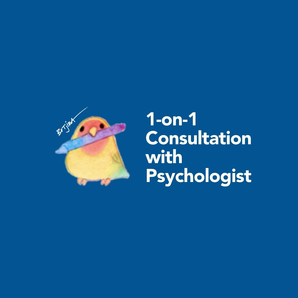 1-on-1 Consultation Psychologist