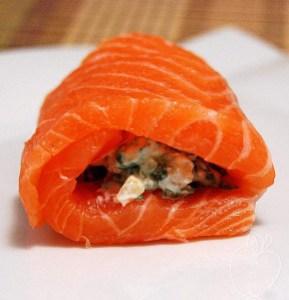 Rollitos de salmón y espinacas (2)