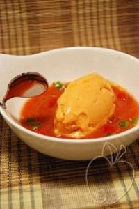 Sorbete de tomate y queso fresco con su gazpacho ligero (22