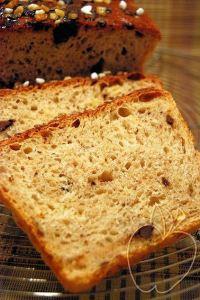 Pan de molde de chocolate y naranja confitada (23)