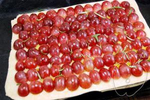 Pizza de uvas y aceite (dulce) (5)