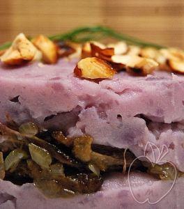 Parmentier de pato confitado y patatas moradas (12)