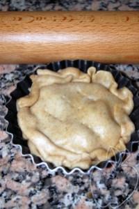 Tatin de cebolletas caramelizadas (3)