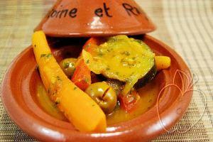 Tagine de verduras al estilo de Marruecos (3)