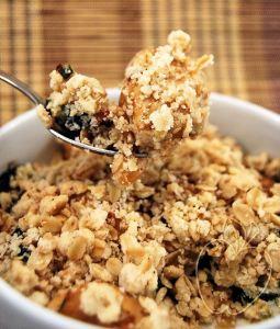 Crumble (salado) de pollo y calabacín (11)