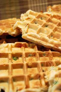 Gofres (salados) de guisantes (4)