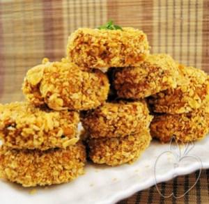 Croquetas de coliflor y patatas con copos de maíz (5) - co