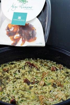 Arroz con pulpitos y alga wakamé (5)
