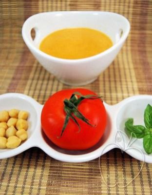 Crema de tomates y garbanzos (4)