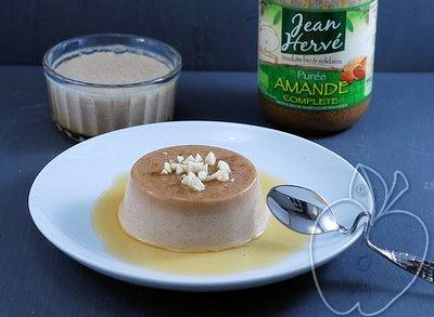 Flan de almendra (sin huevos, sin lácteos) (1)