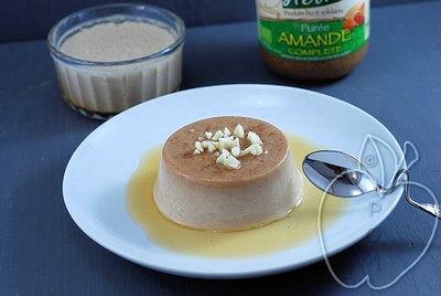 Flan de almendra (sin huevos, sin lácteos) (3)