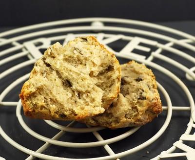 Scones de alga wakamé y almendra (sin mantequilla) (6)