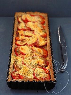 Tarta salada de tomate y ricotta (3)
