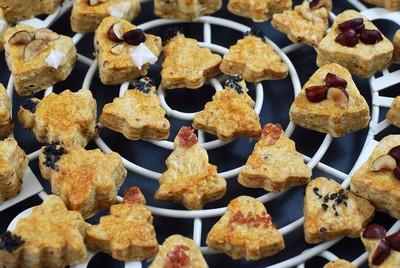 Galletas saladas de Avellanas y Grana Padano (5)