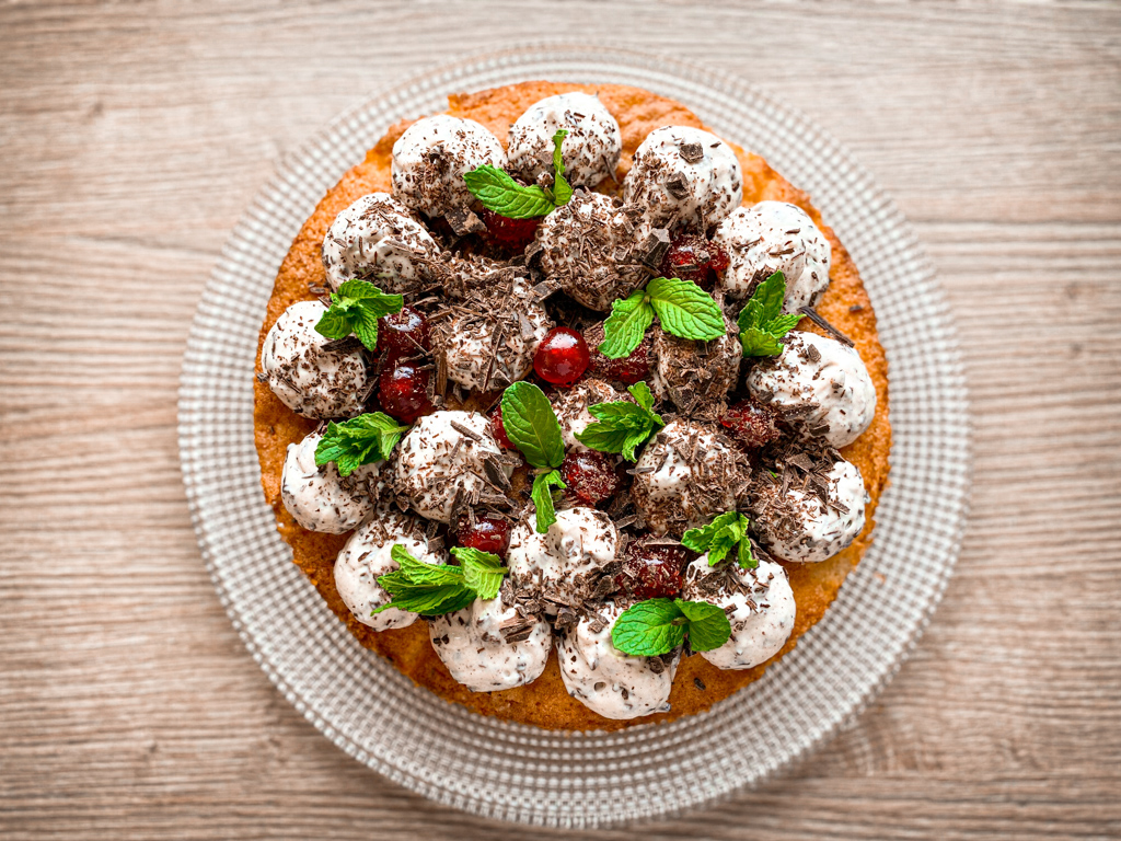 Kokos Straciatella Kuchen