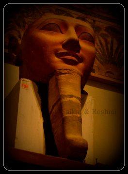 Female pharaoh with false beard