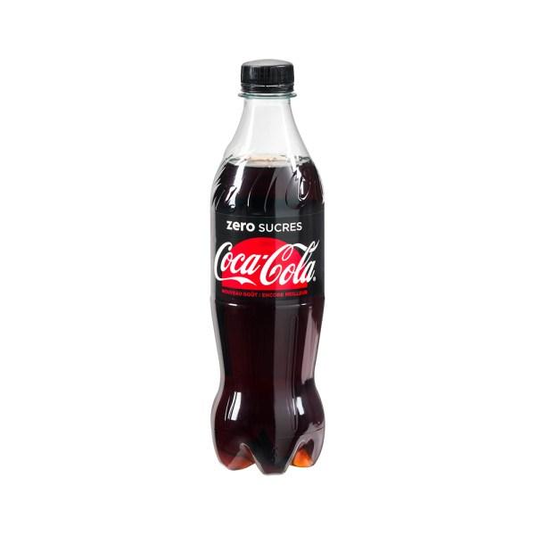 Coca Cola Zero 50cl Boissons Soft Come à lÉpicerie Come Delivery Delivery Takeaway Luxembourg 1
