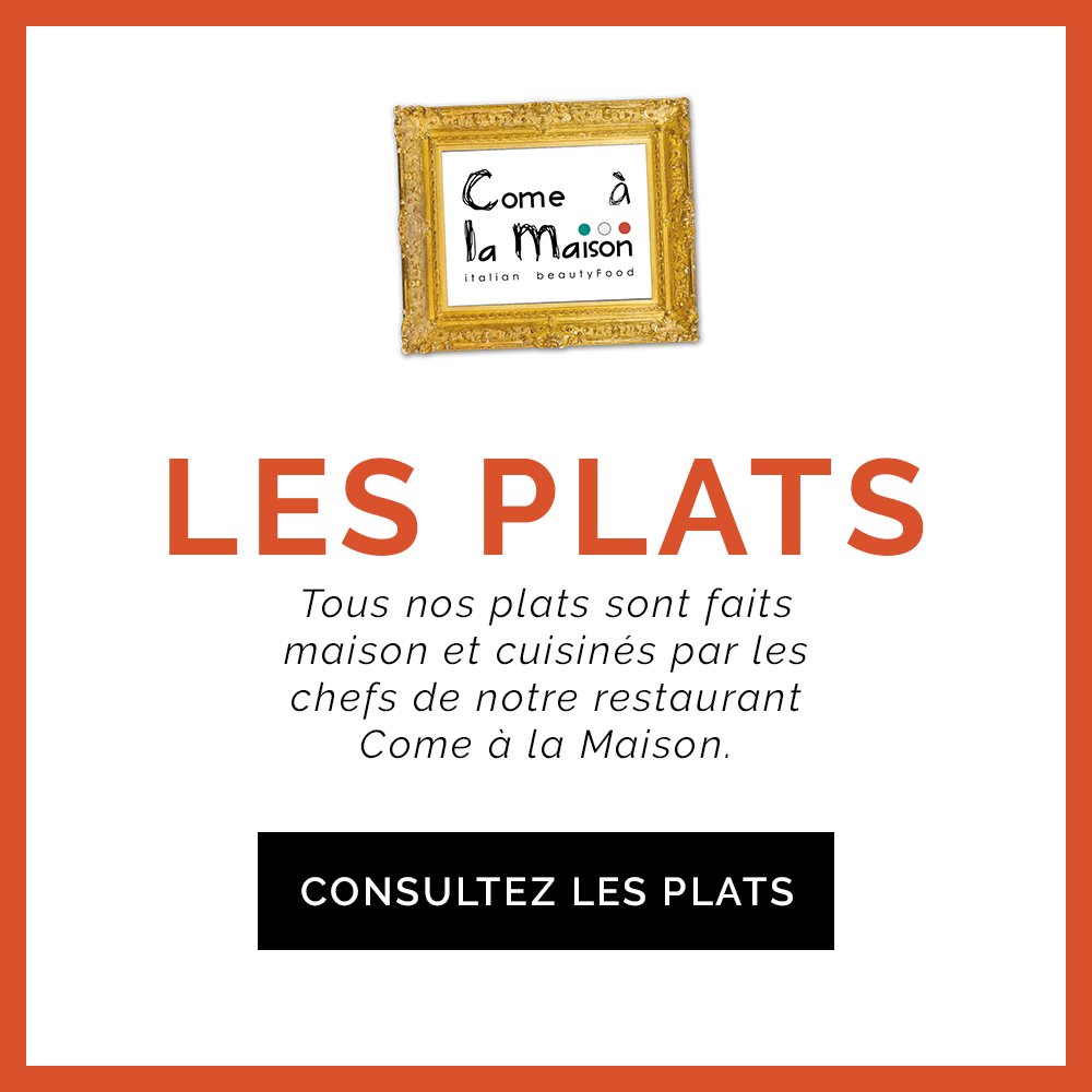 Come à la Maison Plats Take Away Delivery Luxembourg