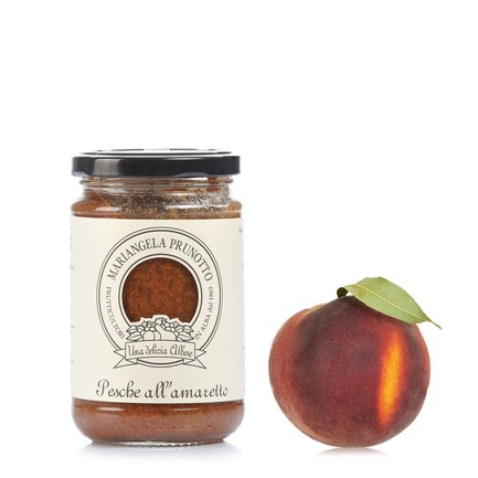 Mariangela Prunotto Pesche All amaretto 345g 37707