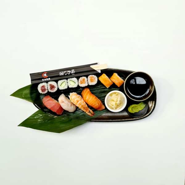 Sushi Box 12 pieces Sushi Delivery Luxembourg Come Delivery 1
