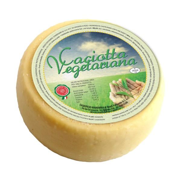 Caciotta vegetariana Formaggio Misto Come a lepicerie Come Delivery Come a la Maison