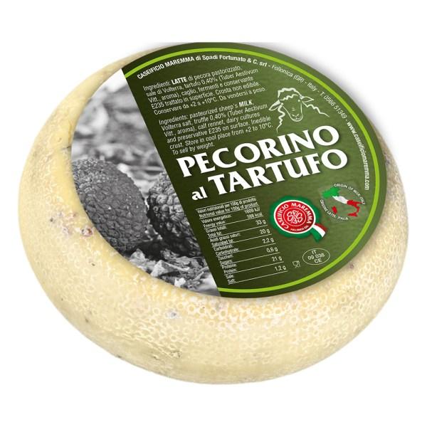 Pecorino Al Tartufo Come a lepicerie Come Delivery Come a la Maison